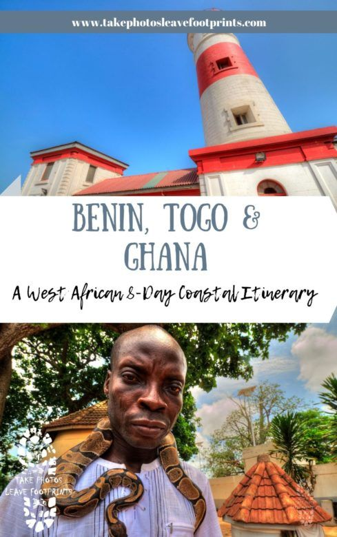 8-day itinerary for Coastal Benin, Togo and Ghana